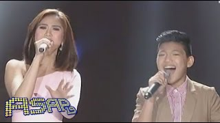 Sarah G, Bamboo sing with Darren & Lyca on ASAP