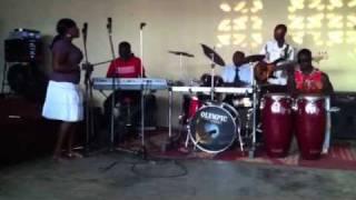 African Gospel Band in Kumasi, Ghana