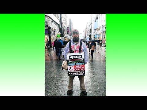 Grafton St. Mall Preacher | Dublin, Ireland Mission Trip | Kerrigan Skelly