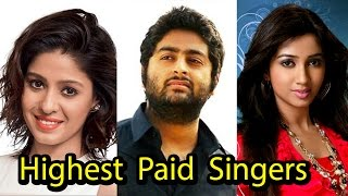 Top 10 Highest Paid Bollywood Singers per Song 2017