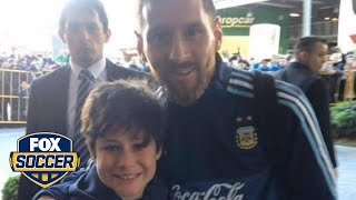 Lionel Messi just made this boy's year | FOX SOCCER