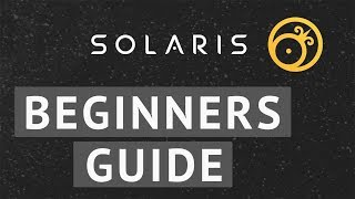 Solaris Wallet (Basic Guide)