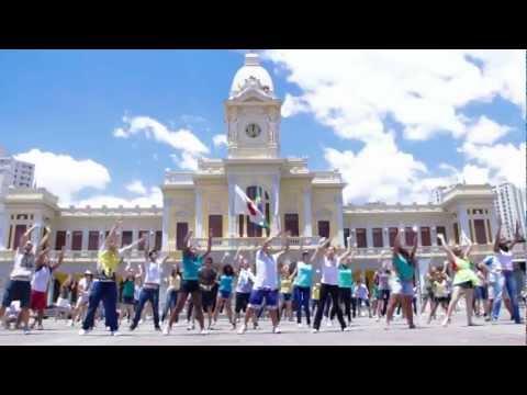 Flash Mob Bh Jmj Rio 2013 - Oficial video