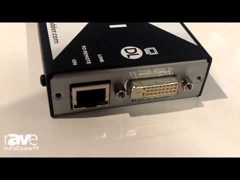 InfoComm 2014: Adder Talks About the Adderlink X-DVI PRO Dual Link KVM Extender
