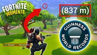 LONGEST CROSSBOW SHOT IN FORTNITE HISTORY! (UNREAL) | Fortnite Daily Funny and WTF Moments Ep. 108