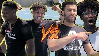 DDG & McQUEEN CHALLENGED ME & CHARC IN BASKETBALL FOR 5,000 DOLLARS