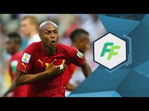 Andre AYEW - EXCLUSIVE - FIFA Football Show