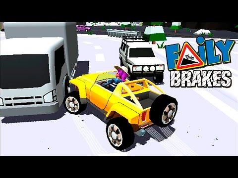 МАШИНКИ БЕЗ ТОРМОЗОВ Faily Brakes ГОНКИ с горы Игровой мультик про машинки веселое Видео для детей 6