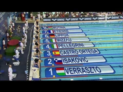 medaglia d'oro federica pellegrini 2012 debrecen.mpg