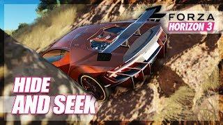 Forza Horizon 3 - Hide and Seek (Mini Games & Random Fun)