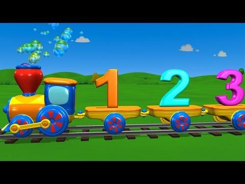 Trenuletul cu numere