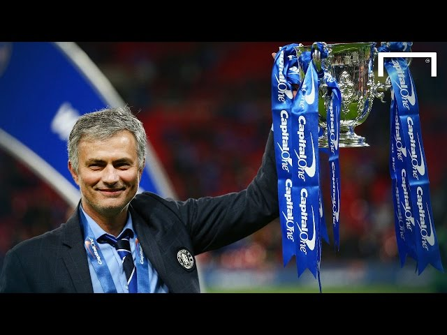 Who did Mourinho call after League Cup win?