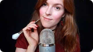 ASMR TAK~TUC~SK~TICO ♥️ Camera Touching, Stippling, Brushing (BLUE YETI)
