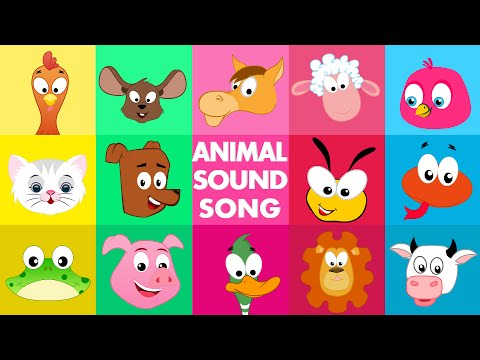 Animal sound song Kids Tv Nursery Rhymes S01EP198