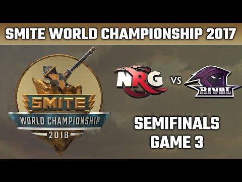 SMITE World Championship 2018: Semifinals - NRG Esports vs. Team Rival (Game 3)