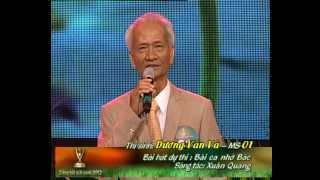 Tiếng hát mãi xanh 2012 – Chung kết đêm 2 – Dương Văn Vá – Bài ca nhớ Bác