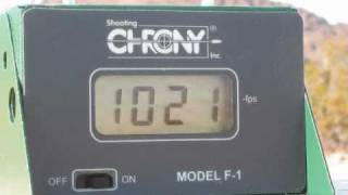 10mm ammo test chronograph stats #1Glock 20