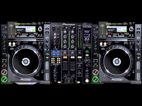 virtual dj pioneer CDJ2000- electro dutch mix