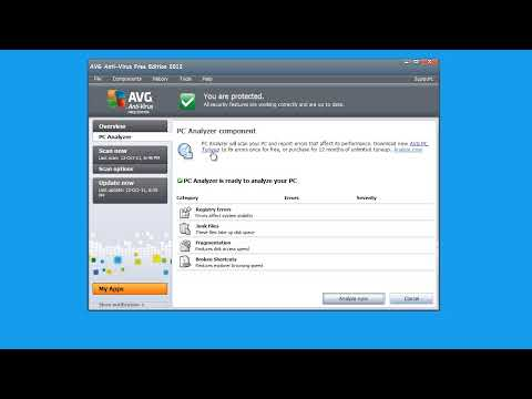 Tutorial video AVG Anti-Virus Free Edition 2012