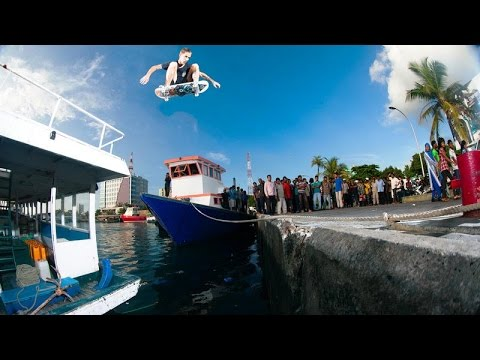 Street Skating On Boats In The Maldives - Island Hopping - Part 1