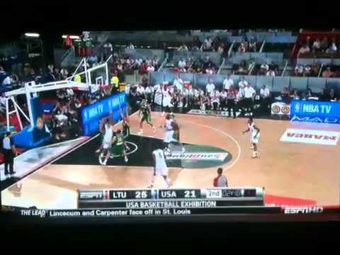 NBA USA Basketball Derrick Rose Crossover