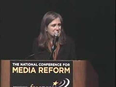 Amy Goodman at the NCMR 2007