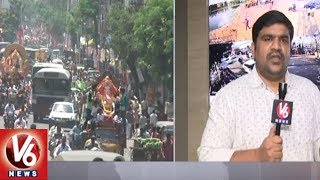 DGP Mahender Reddy Face To Face Over Security Arrangements For Ganesh Immersion | Hyderabad