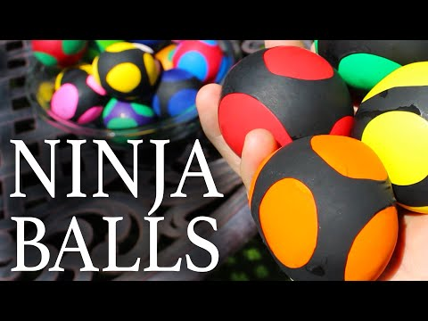 How To Make Ninja Squishy Balls!