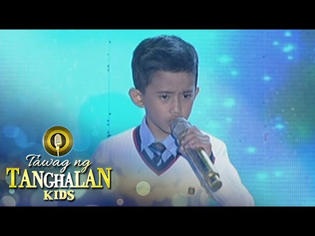 Tawag ng Tanghalan Kids: John Clyd Talili | Keep Holding On (Round 4 Semifinals)