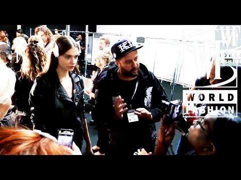 Backstage Marios Schwab Spring-Summer 2015 London Fashion Week