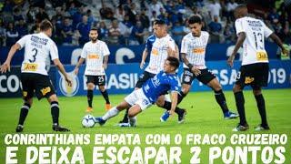 Pós-jogo | Cruzeiro x Corinthians 08/06/2019 - Brasileirão