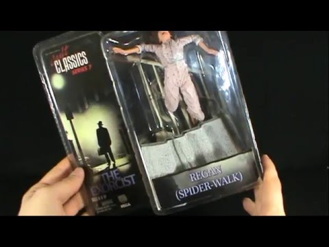 Toy Spot - Neca Cult Classics Series 7 The Exorcist Regan (Spider-walk)
