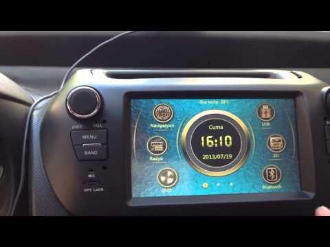 Fiat fiorino multimedya cihazı