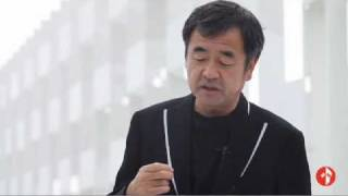 Interview with Kengo Kuma. Casalgrande Ceramic Cloud