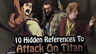 10 References To Attack On Titan Hidden In Other Works! (Shingeki No Kyojin)