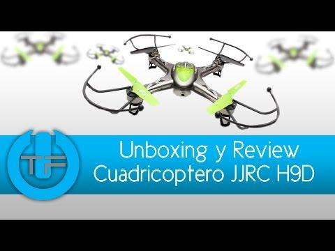 Cuadricoptero JJRC H9D con Video transmisor FPV