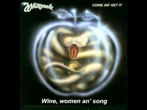 Whitesnake - Wine Women And Song