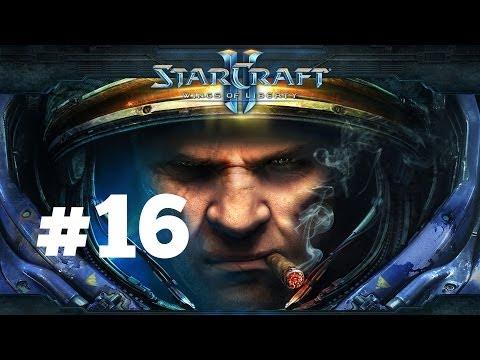 StarCraft 2 - В кромешной тьме - Часть 16 - Эксперт - Прохождение Кампании Wings of Liberty