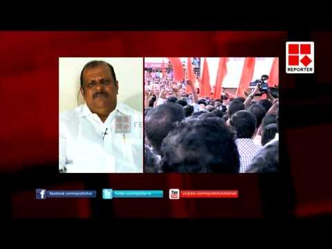 V.S.Achuthanandan lashes Oommen Chandy and A.K.Antony at Aruvikkara- Big Story- P.K.Prakash