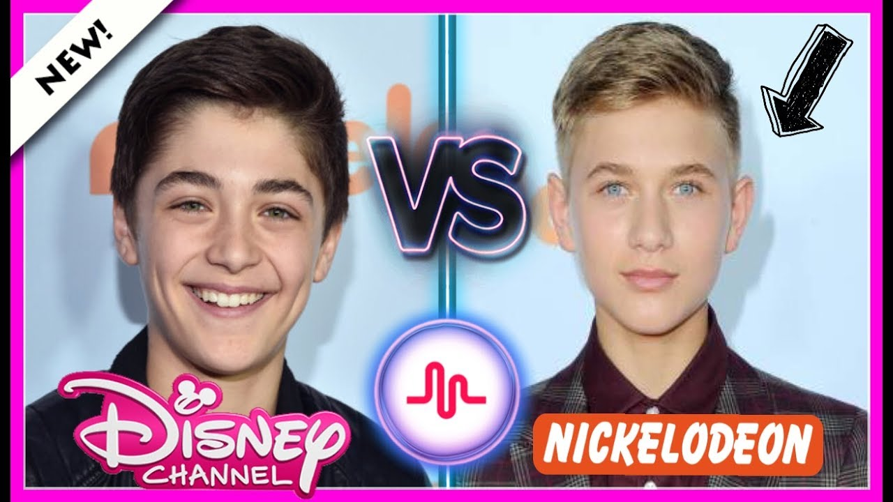 Famous Boys Asher Angel VS Thomas Kuc Musical.ly Battle | Disney & Nickelodeon Boys Musically