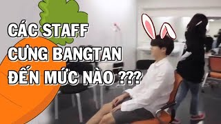 [BTS with STAFF] How much does staff adore Bangtan?