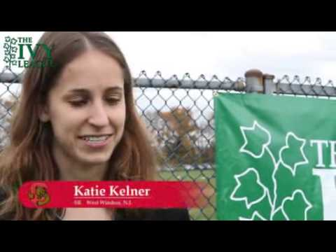 2012 Ivy League Heptagonal Women's Cross Country highlights.flv