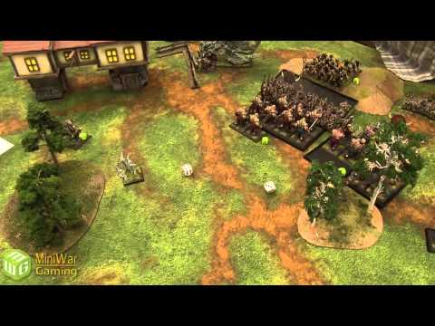 Ogre Kingdoms vs Vampire Counts Warhammer Fantasy Battle Report - Old World Wars Ep 07