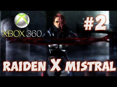 Metal Gear Rising: Revengeance - Raiden x Mistral