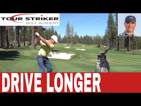 Tour Striker Golf Academy - How To Launch Your Driver - Martin Chuck. PGA