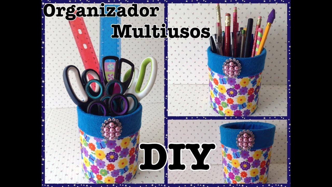 Como decorar una lata o bote reciclado convirtiendolo en for Botes de cocina decorados con goma eva