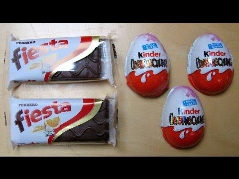 Ferrero Fiesta Cake & Kinder Surprise Eggs