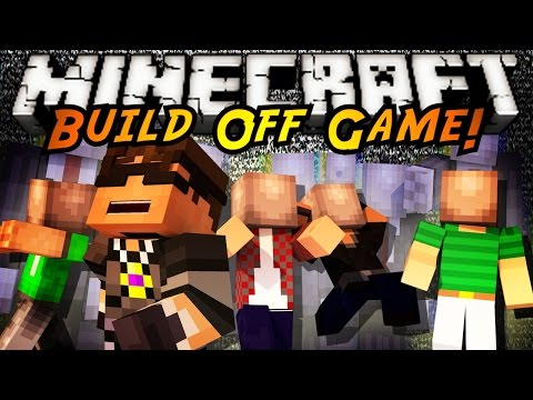 Minecraft Build Off : SLENDERMAN!