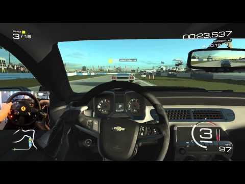 FM5 GoPro - Camaro ZL1 vs Sebring - Trying Heel Toe
