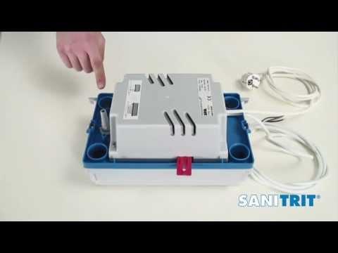 Pompa per acque di condensa sanicondens plus sanitrit for Finestre velux condensa
